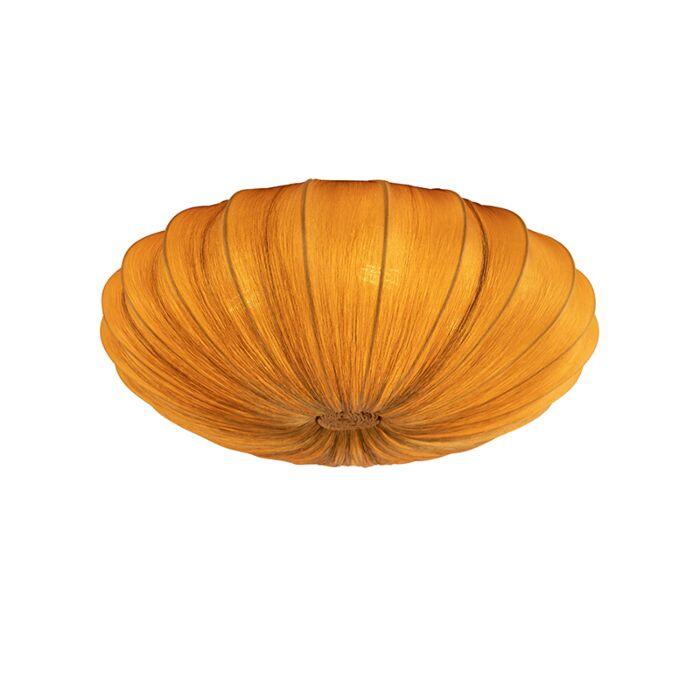 Plafón-diseño-seda-dorada-60cm---PLU