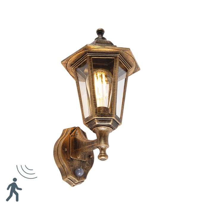 Aplique-clásico-oro-envejecido-sensor-movimiento---NEW-HAVEN