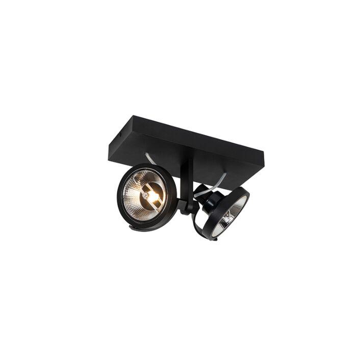 Foco-moderno-negro-2-luces---MASTER-111