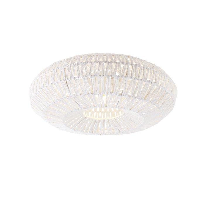 Retro-plafondlamp-wit-50-cm---Lina