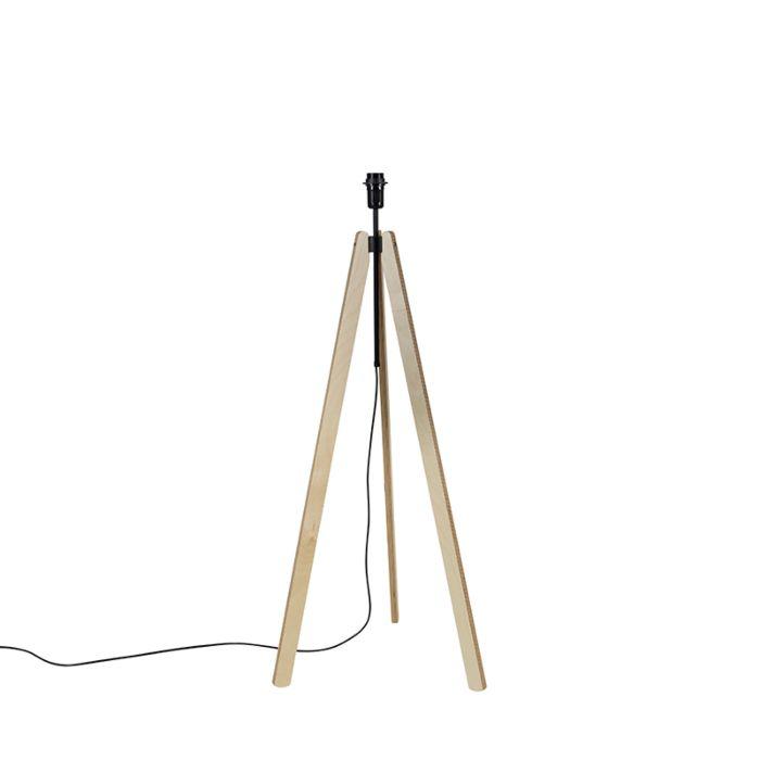 Trípode-rústico-madera-clara---TELU