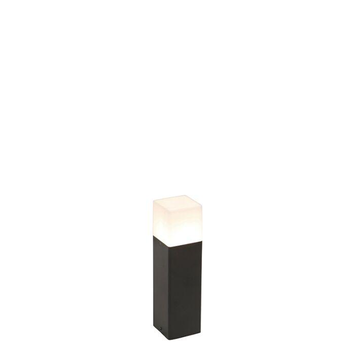 Baliza-negra-pantalla-blanco-translúcido-30cm---DENMARK