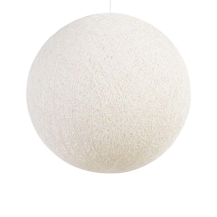 Lámpara-colgante-nórdica-blanca-80cm---CORDA