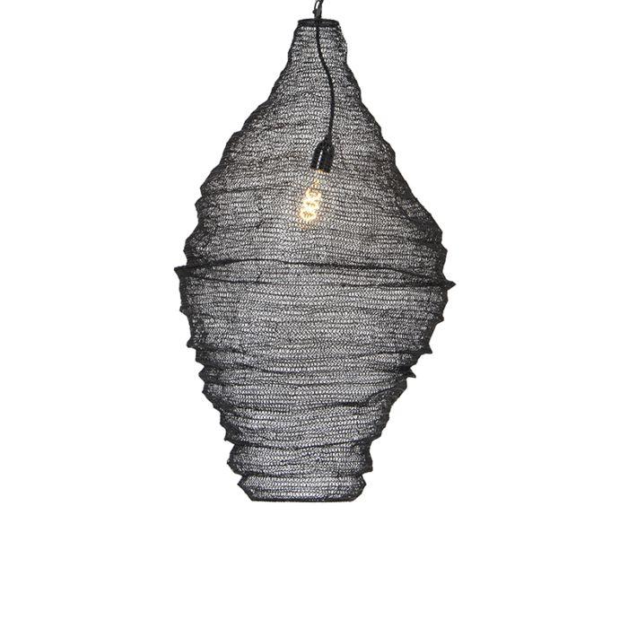 Lámpara-colgante-oriental-negro-90-cm---Nidum