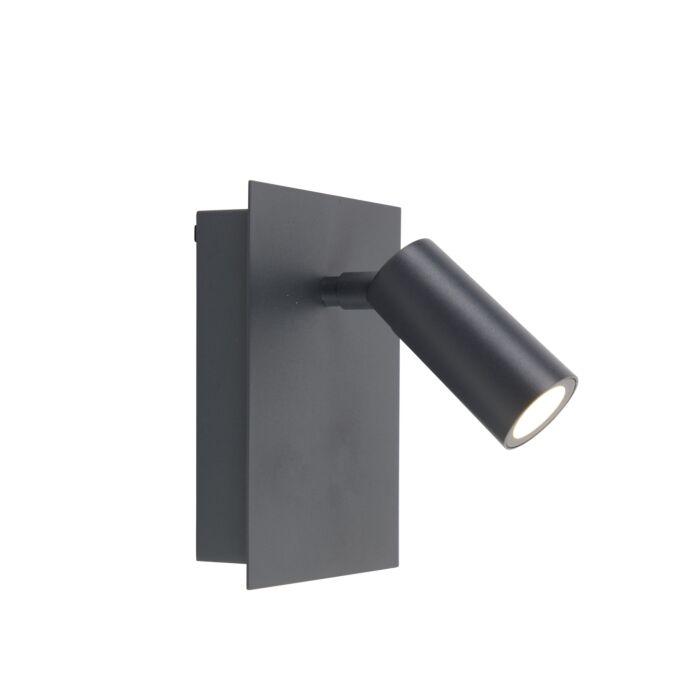 Aplique-de-exterior-moderno-gris-IP54-incl.-LED---Simon