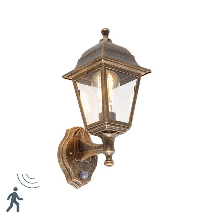 Aplique-antiguo-dorado-IP44-detector-movimiento---CAPITAL