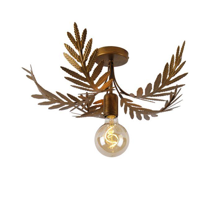 Plafon-vintage-dorado-46cm---BOTANICA