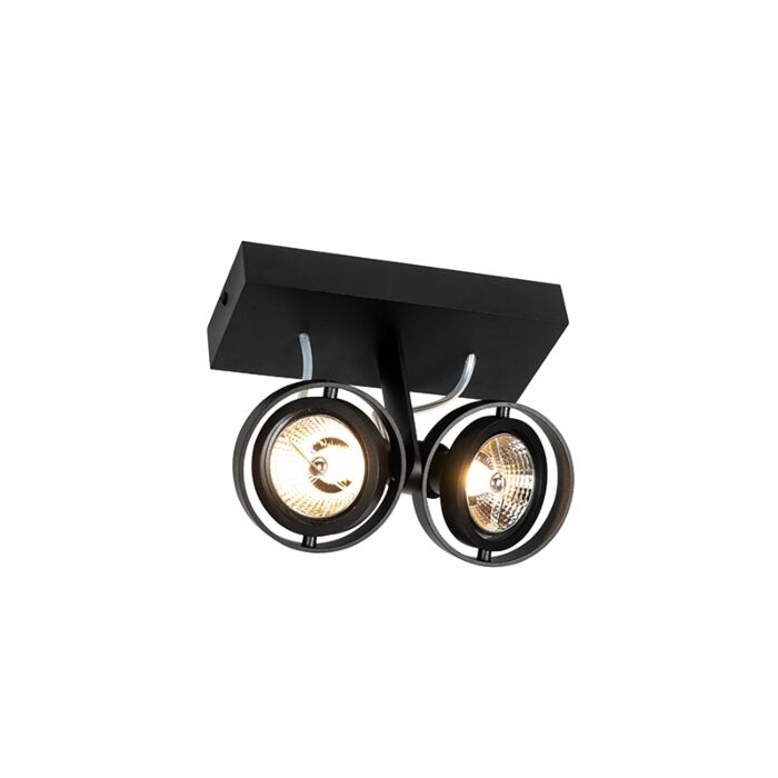 Foco-moderno-negro-2-luces---MASTER-70