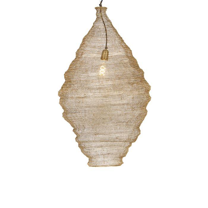 Lámpara-colgante-oriental-dorado-90-cm---Nidum