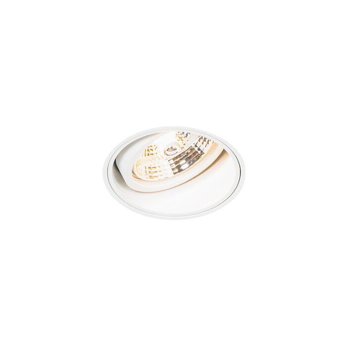 Foco-empotrado-moderno-blanco-sin-molde---IMPACT-70
