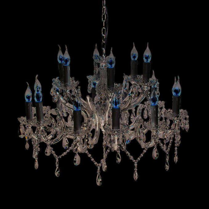 Lámpara-de-araña-MARIE-THERESA-12-cromo