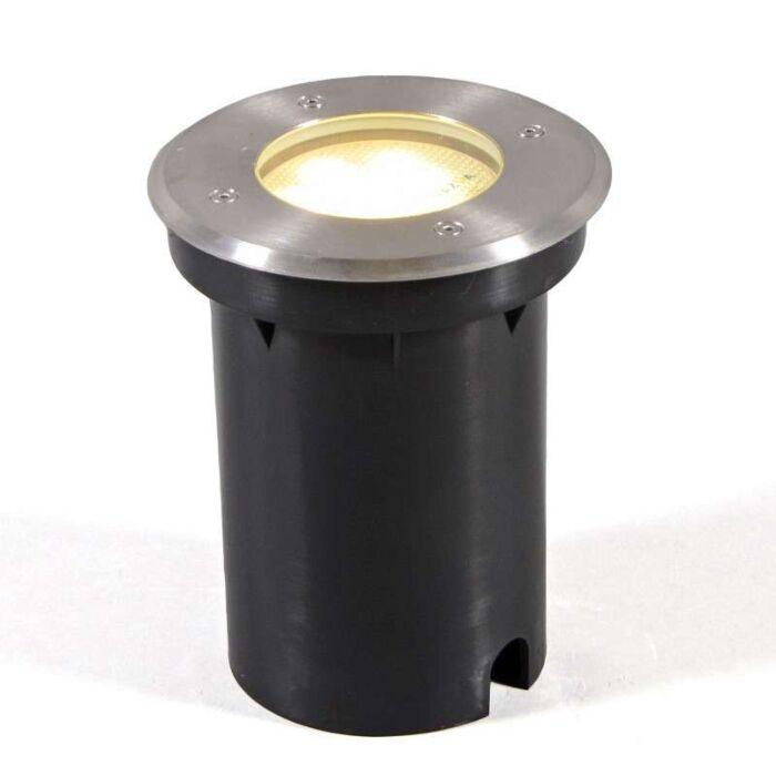 Foco-de-suelo-empotrado-para-exterior-BASIC-redondo-GX53-9W