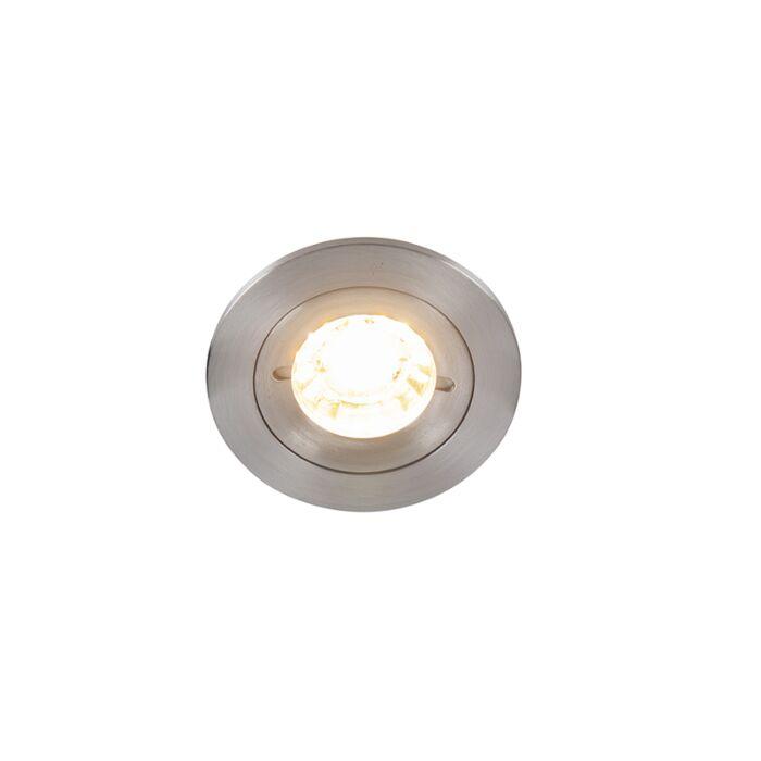 Foco-empotrado-moderno-aluminio-IP44---XENA-Round