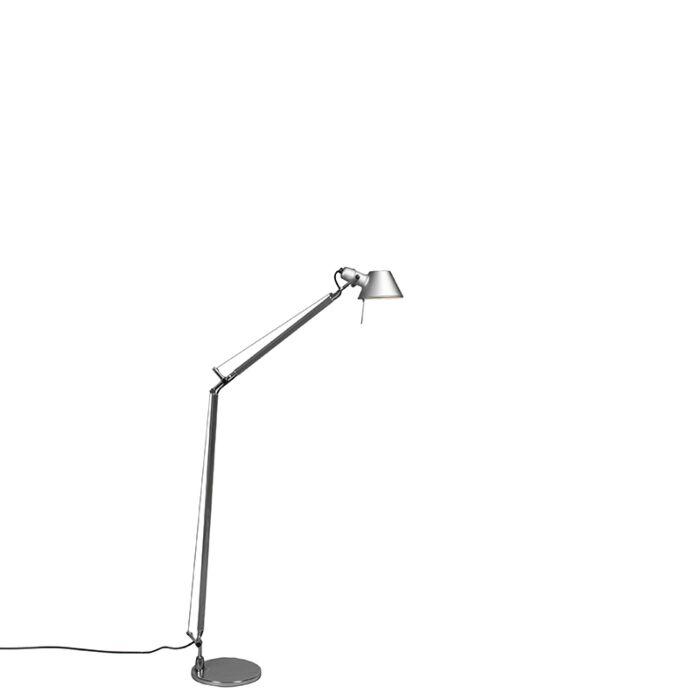 Artemide-lámpara-de-pie-de-aluminio-ajustable---ARTEMIDE-Tolomeo-Lettura