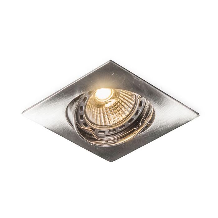 Foco-empotrado-EDU-LED-cuadrado-acero