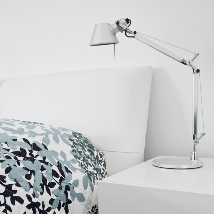 Artemide-lámpara-de-mesa-aluminio-ajustable---ARTEMIDE-Tolomeo-Micro