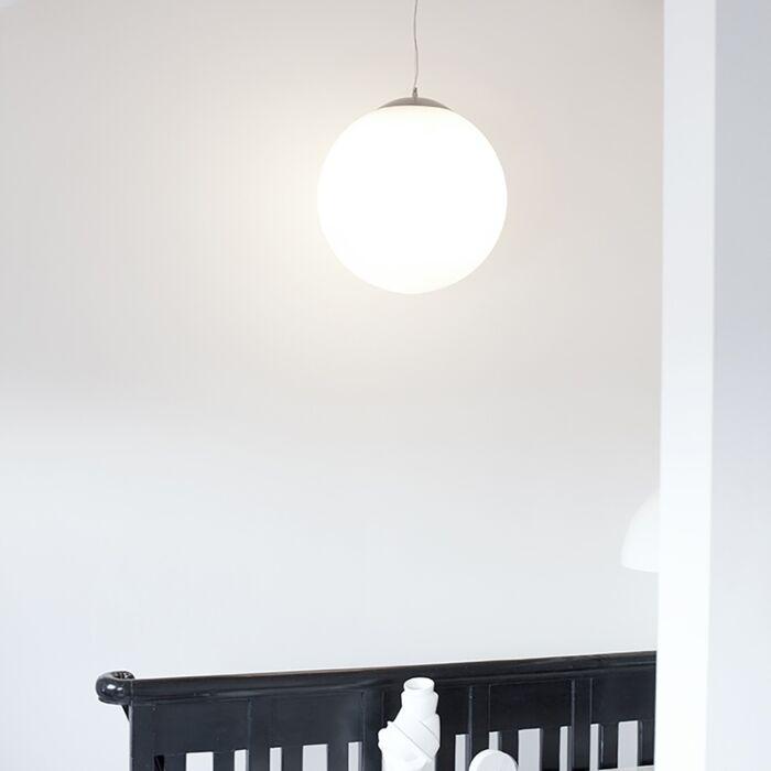 Lámpara-colgante-nórdica-cristal-translúcido-50cm---BALL-50