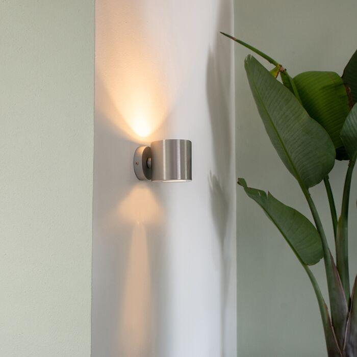 Aplique-moderno-aluminio-redondo---EFFECT
