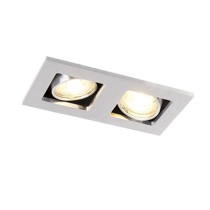 Foco-empotrado-rectangular-aluminio-orientable-2-luces---QURE