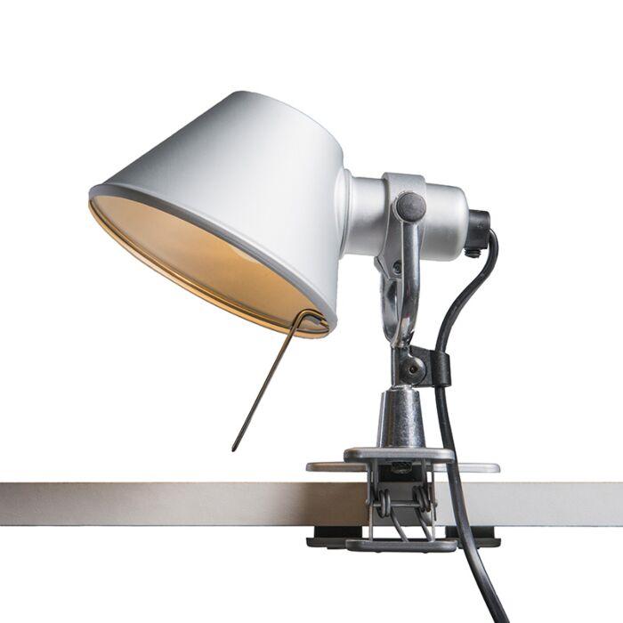 Artemide-lámpara-de-mesa-ajustable---ARTEMIDE-Tolomeo-micro-pinza