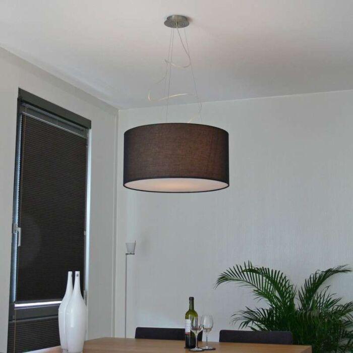 Lámpara-colgante-DRUM-60-negro