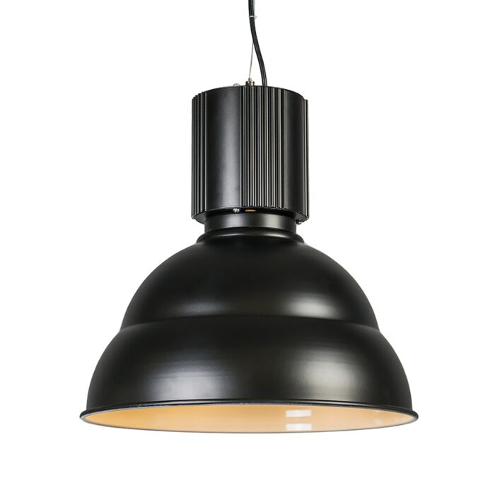 Lámpara-colgante-INDUSTRIE-negra