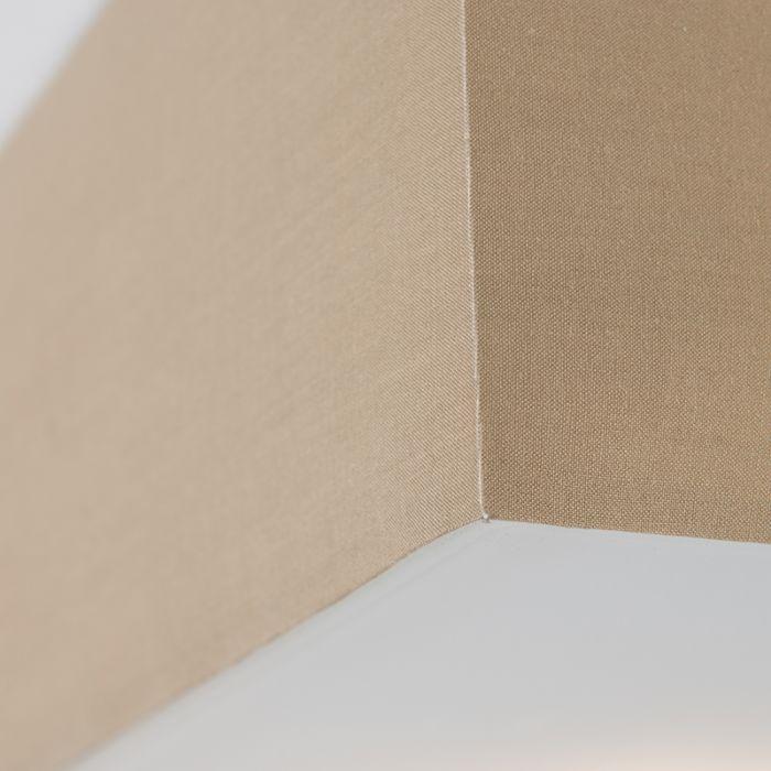 Plafón-DRUM-35-cuadrado-beige