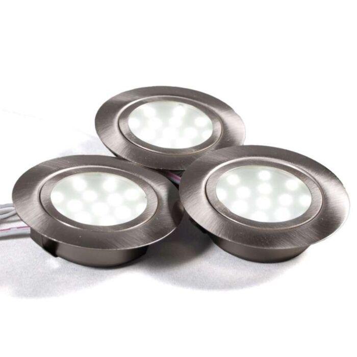 Juego-de-3-luces-empotradas-LED