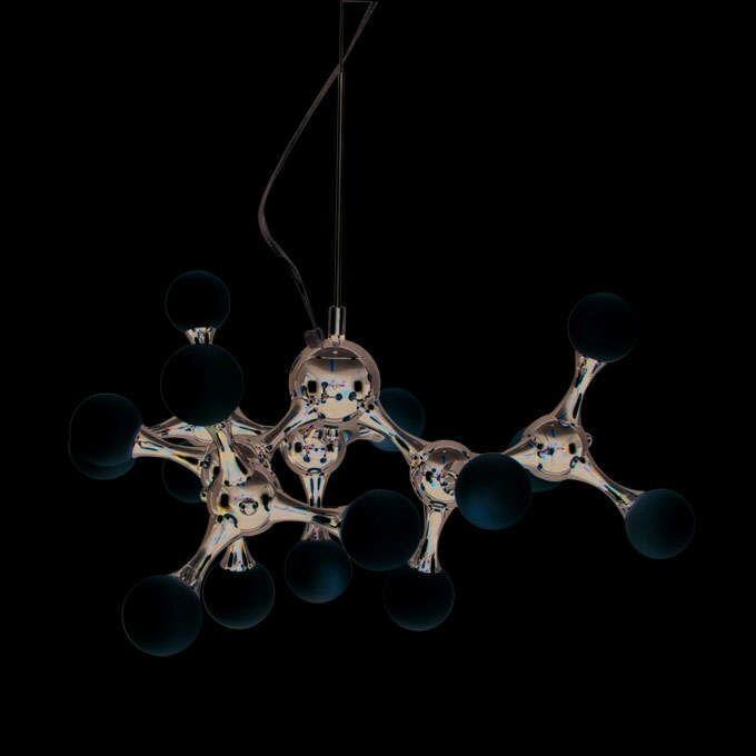 Lámpara-colgante-GLOBO-15-cromo