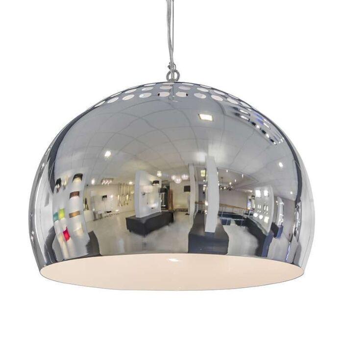 Lámpara-colgante-FERMO-40cm-cromo