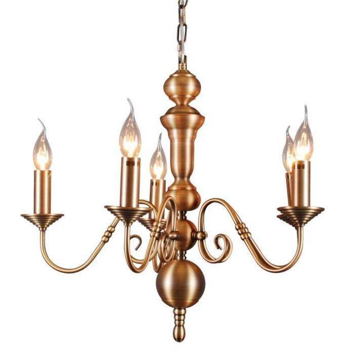 Lámpara-de-araña-OLD-DUTCH-5-bronce