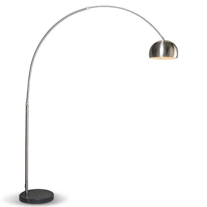 Lámpara-de-arco-moderna-acero-ajustable---GRANDE