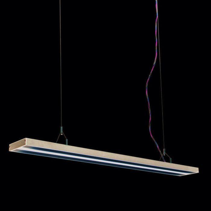 Lámpara-colgante-TUBE-S-negra-2-x-28W
