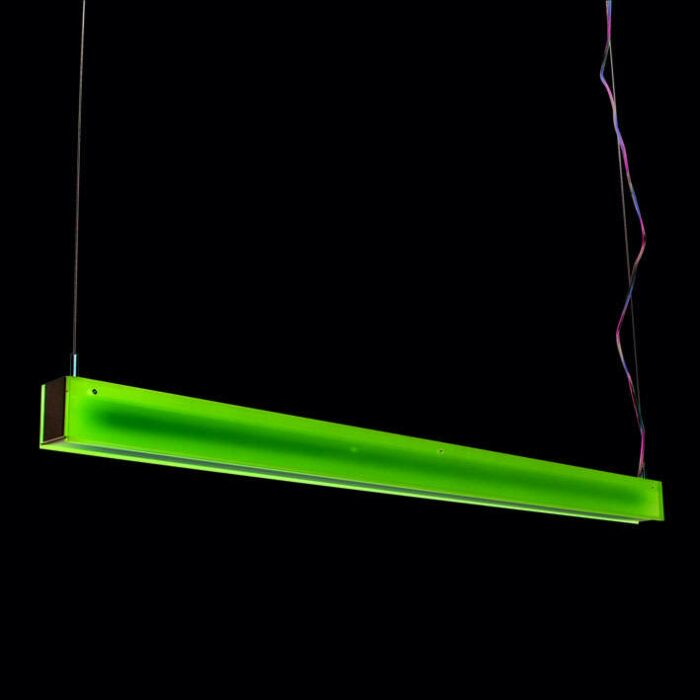 Lámpara-colgante-TUBE-R-rosa-28W