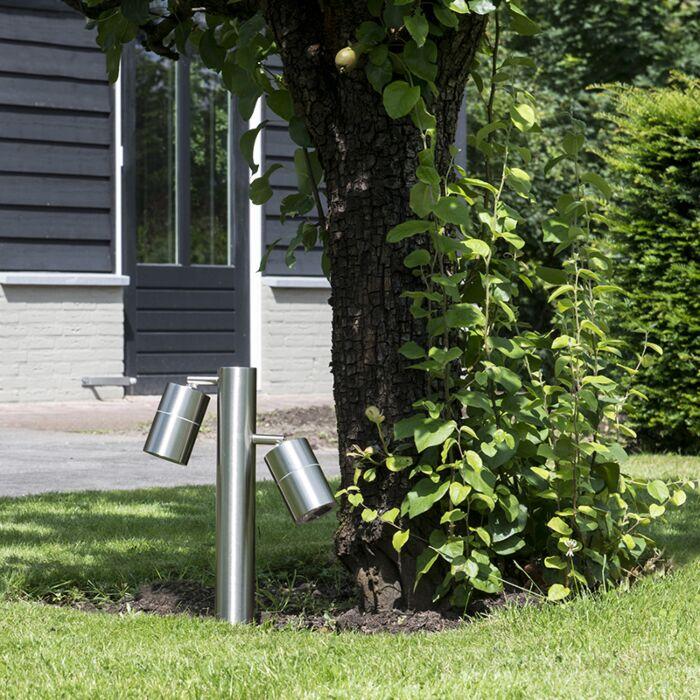 Baliza-para-jardin-SOLO-2-ajustable-35-acero