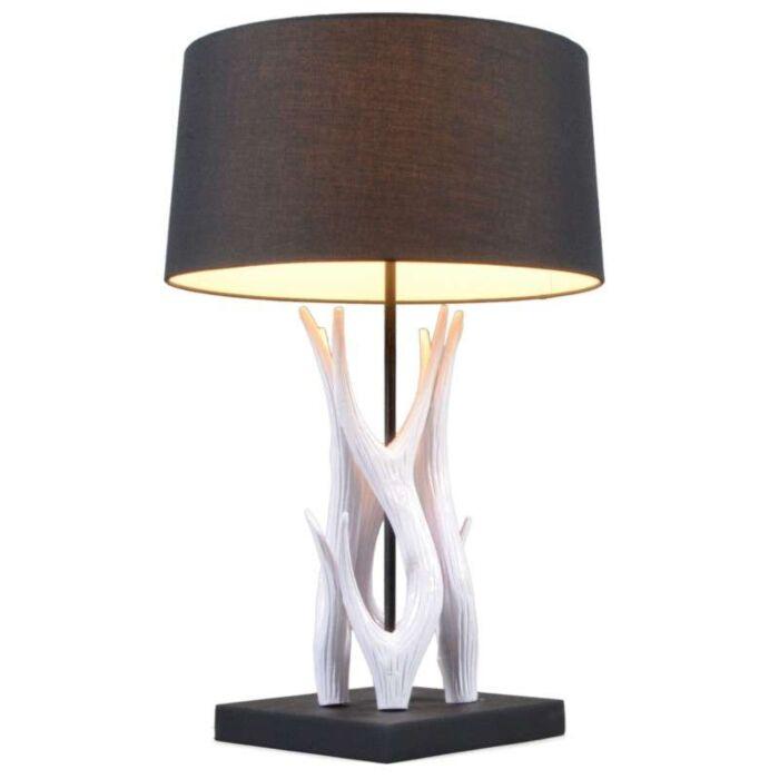 Lámpara-de-mesa-YINDEE-blanco/negro