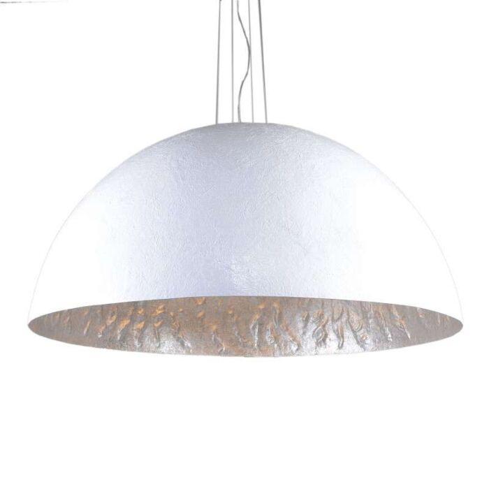 Lámpara-colgante-MAGNA-120-blanca--plata