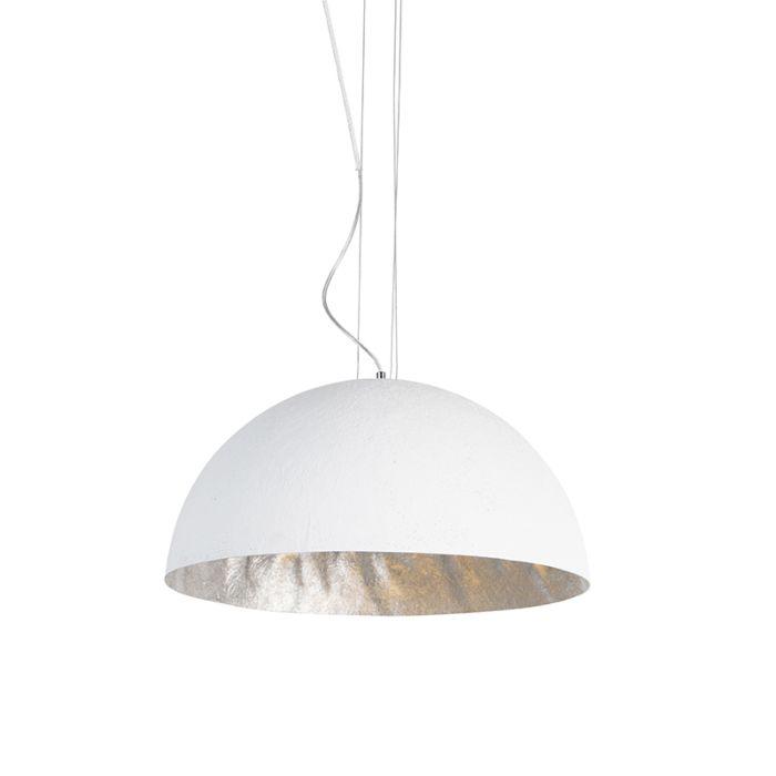 Lámpara-colgante-moderna-blanca-50cm---MAGNA