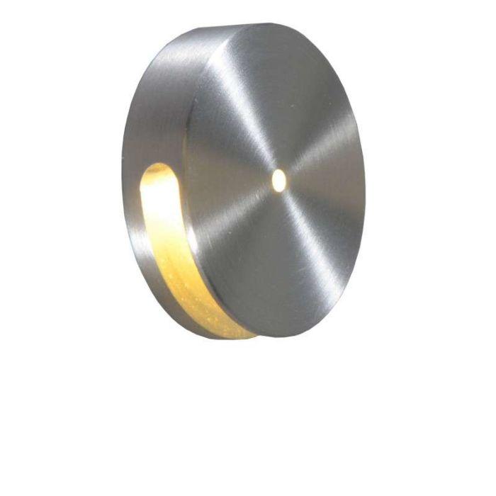 Aplique-empotrado-QUARTZ-I-redondo-aluminio