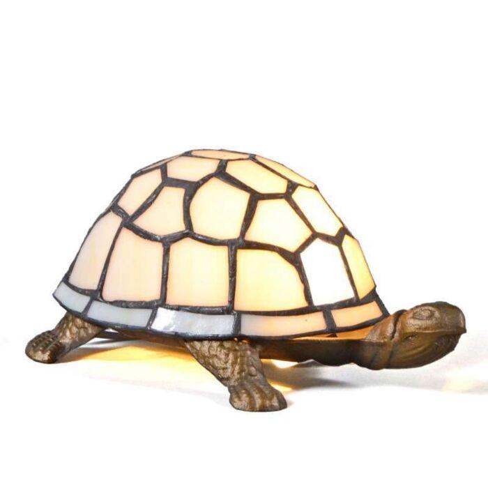 Lámpara-de-mesa-TIFFANY-Turtle