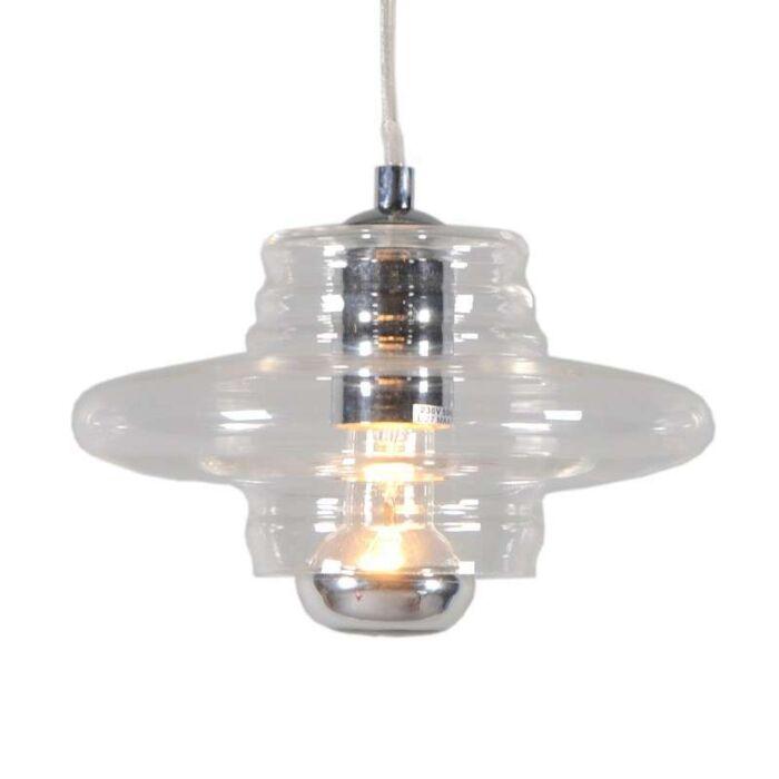 Lámpara-colgante-TREVISO-I-cristal-transparente