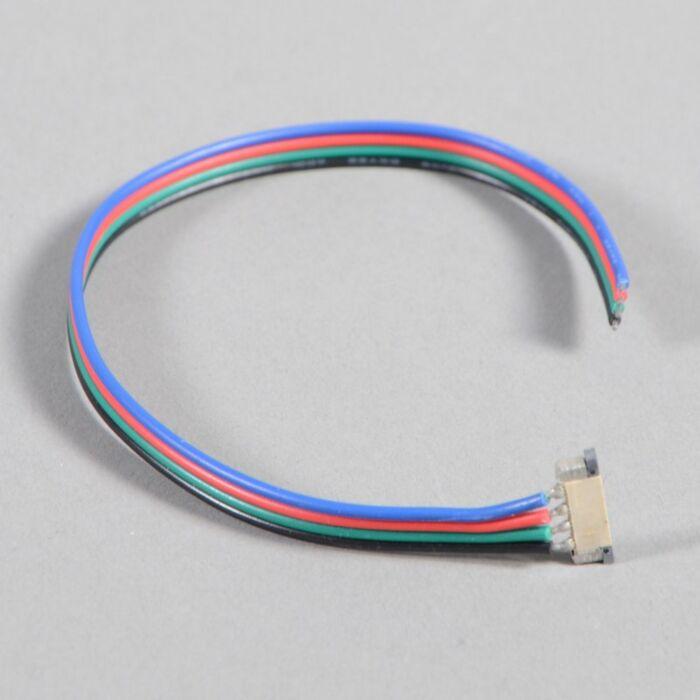 Conexión-de-cable-amplificador-para-tira-RGB-LED