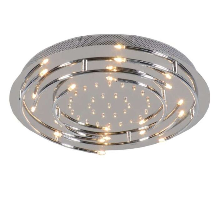 Plafón-ARO-LED-cromo