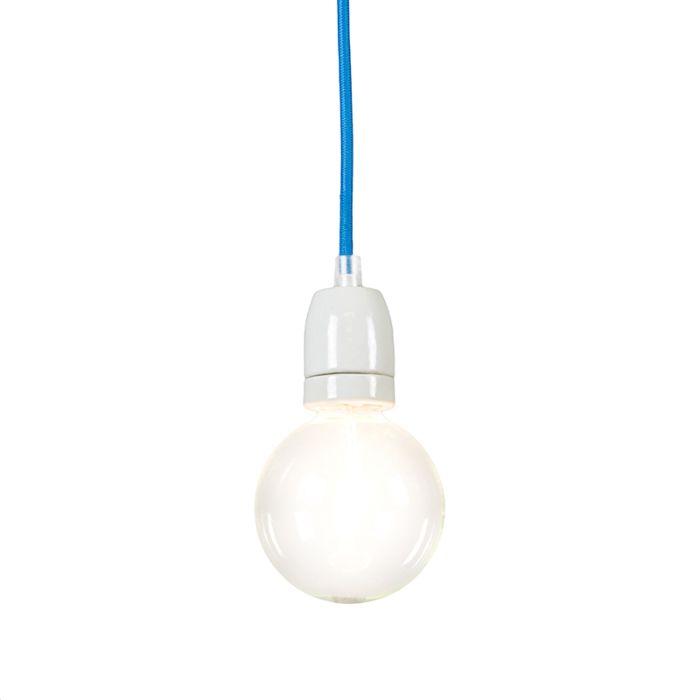 Lámpara-colgante-CAVO-azul