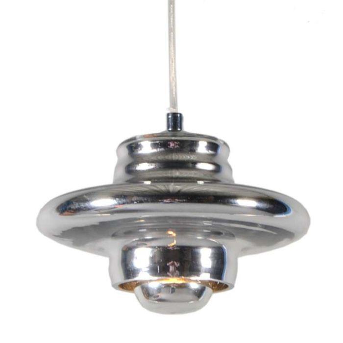 Lámpara-colgante-TREVISO-I-cristal-cromado