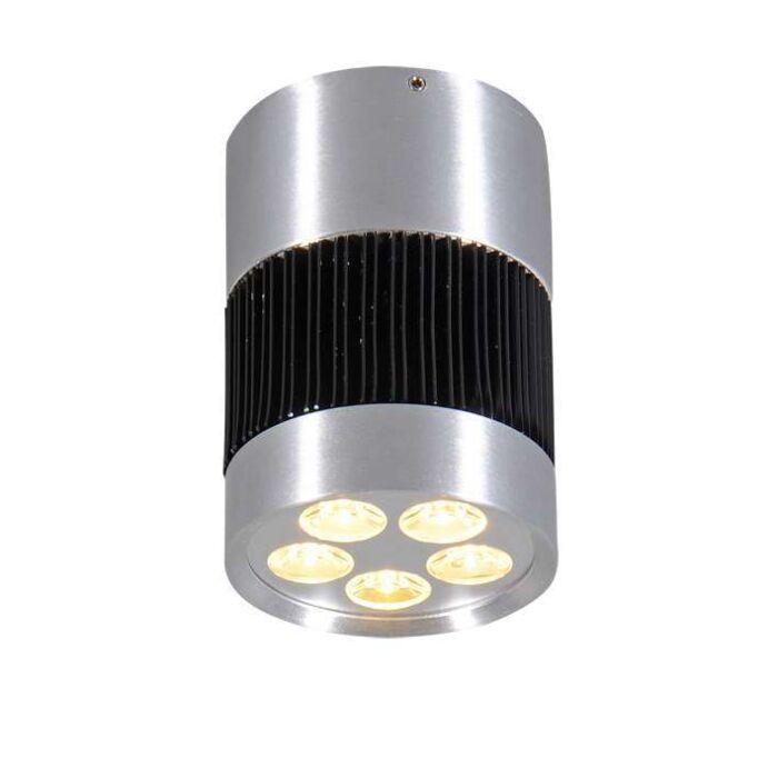 Plafón-SHOT-I-LED-aluminio