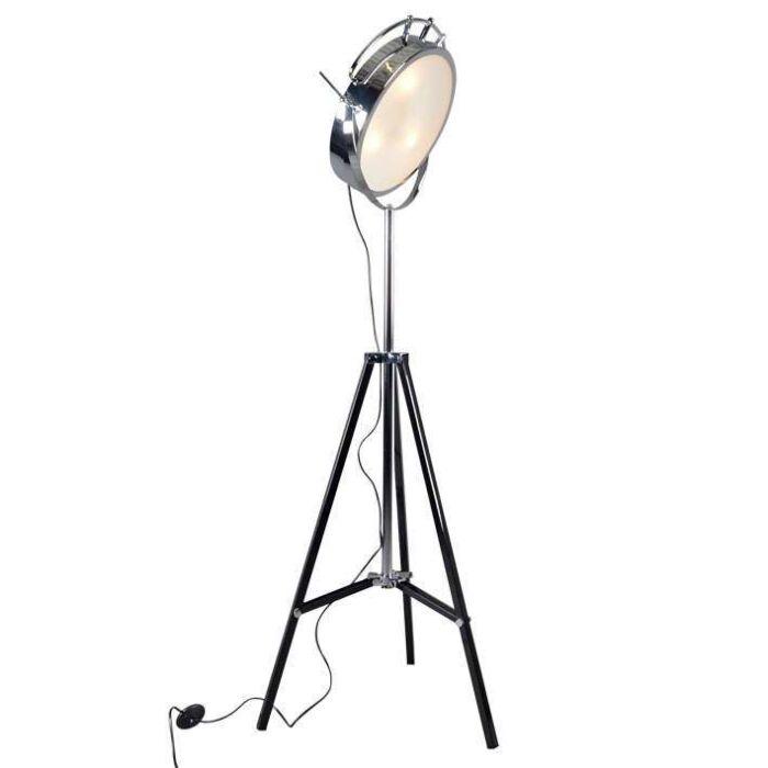 Lámpara-de-pie-OSPEDALE-cromo