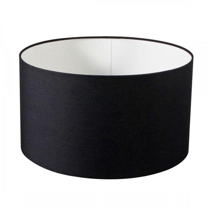 Pantalla-para-lámpara-colgante/-de-pie/-de-mesa-40/40/22.5-negra