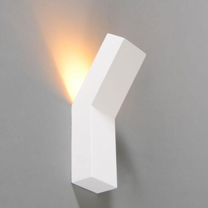 Aplique-de-diseño-blanco---Gipsy-Lyon-I.