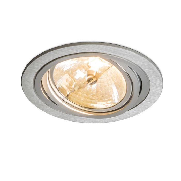 Foco-empotrado-IMPACT-redondo-aluminio